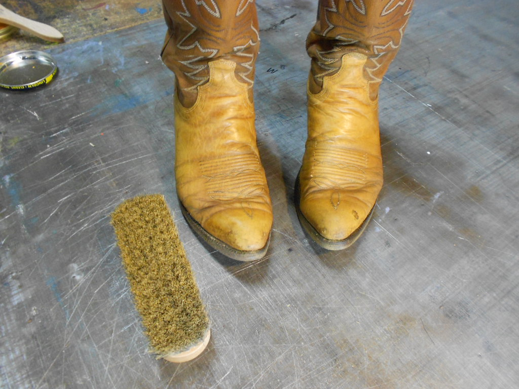 how to clean cowboy boots 6