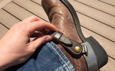 "When It Comes To Spur Straps, Who Is Right…The ""Insiders"" Or The ""Outsiders?"""